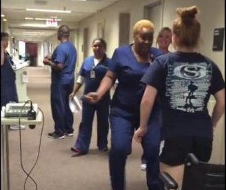 Texas girl walks after 11 days paralyzed, nurse breaks down