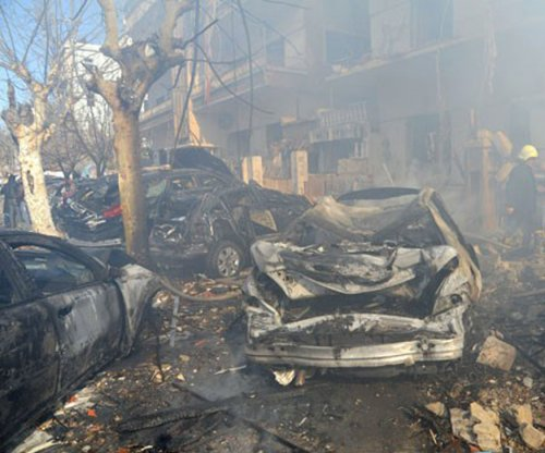 Islamic State suicide bombing kills nine police officers in Syrian capital