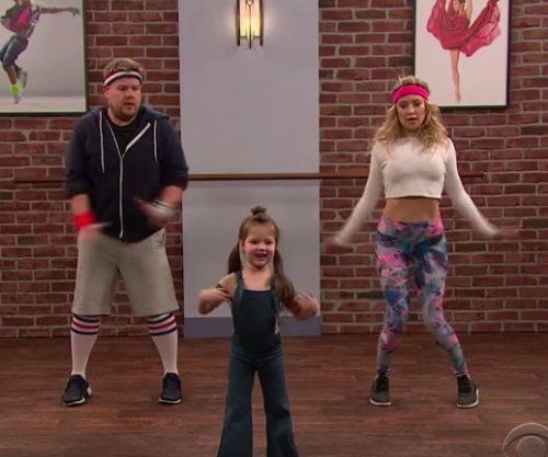 Kate Hudson performs Toddlerography with James Corden