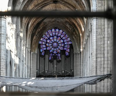 Work starts on restoration of Notre Dame Cathedral's grand organ