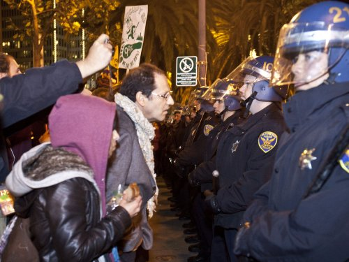 Occupy SF standoff; fixing a home in NYC