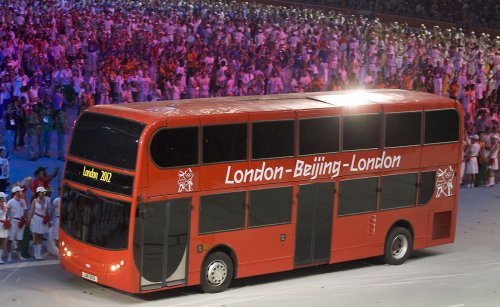 London makes 'good progress' on Olympics