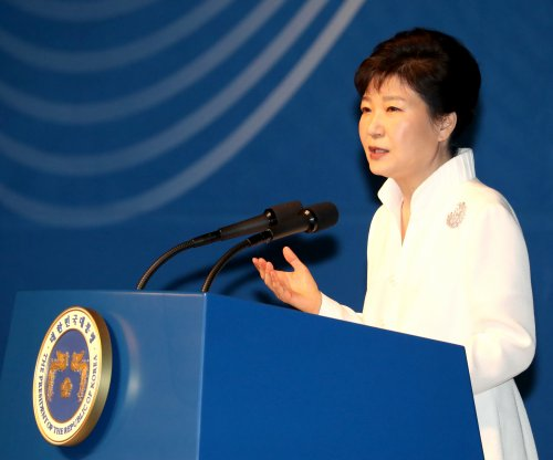 South Korea President Park leaves out Kim Jong Un in unification speech