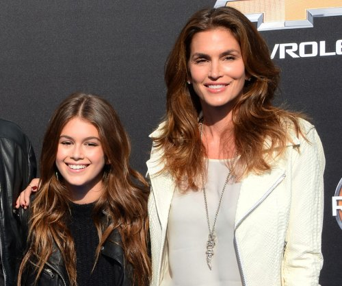 Kaia Gerber realized mom Cindy Crawford was famous at Disneyland
