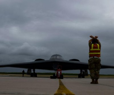 B-2 bombers fly to Diego Garcia in Indian Ocean