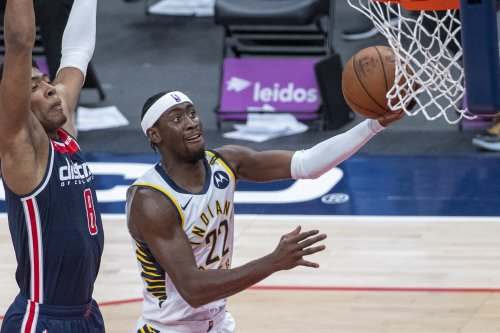 Indiana Pacers' Caris LeVert dealing with stress fracture in back