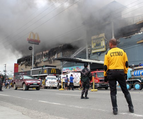 Fire at Philippines mall leaves dozens trapped, feared dead