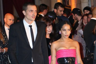 Zoe Kravitz, Karl Glusman return to red carpet after engagement