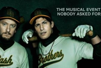 Lonely Island rap as baseball greats in 'Bash Brothers Experience'