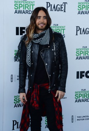 Jared Leto thanks 'future ex-wife' Lupita Nyong'o at Independent Spirit Awards