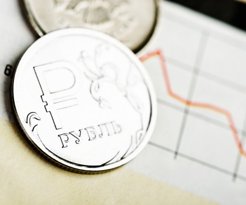 Russian ruble declines to record low