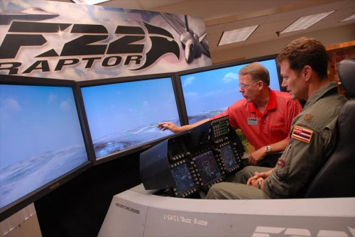 Boeing completes F-22 flight simulator upgrade