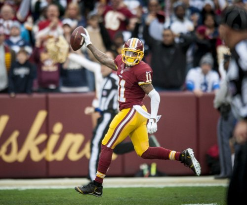 Redskins' DeSean Jackson late to party, no gifts