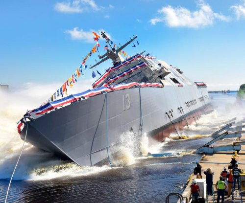 Future USS Wichita LCS launched