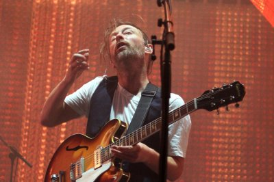 Thom Yorke takes bizarre elevator ride in Radiohead's 'Lift' video