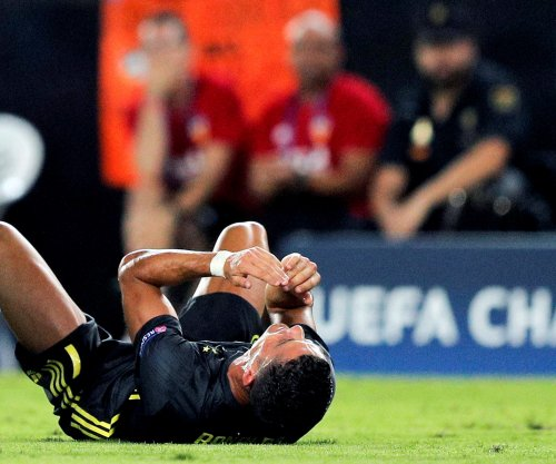 Champions League: Cristiano Ronaldo red carded in Juventus win
