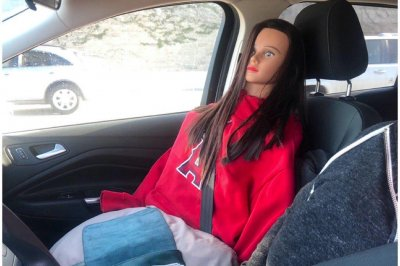California police cite carpool lane cheater with dummy passenger