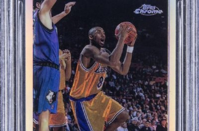 'Pristine' Kobe Bryant rookie card sells for $1.8M at auction