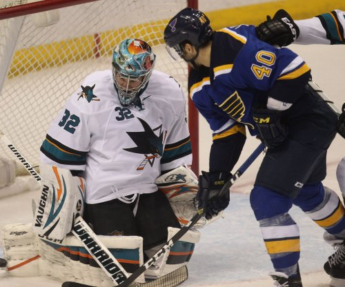 Balanced attack fuels St. Louis Blues' 2nd rout of San Jose Sharks in 5 days