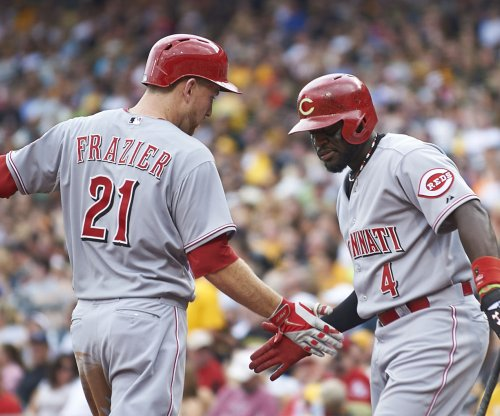 Cincinnati Reds' Frazier earns NL Player of Week