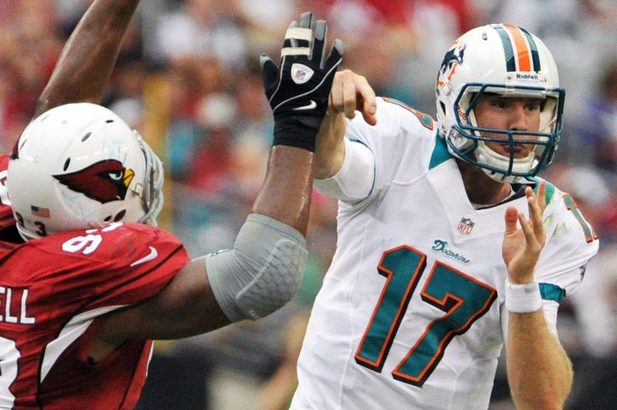 Arizona Cardinals Calais Campbell glad Miami Dolphins Ryan