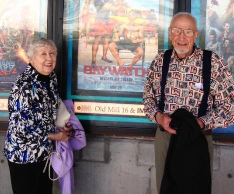 Zac Efron's grandparents attend 'Baywatch' screening