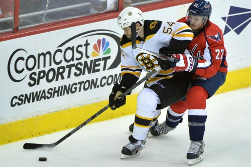 Boston Bruins defenseman Adam McQuaid out 2 months with broken leg