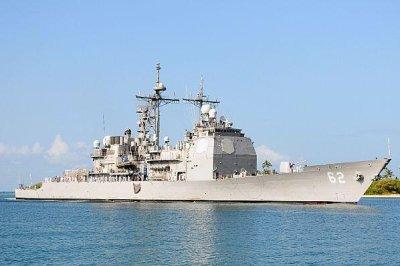 U.S., Russian warships narrowly avoid collision
