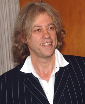 Bob Geldof urges Britons to keep giving