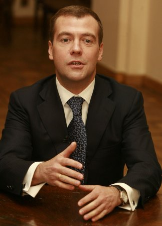 Medvedev skips first presidential debate