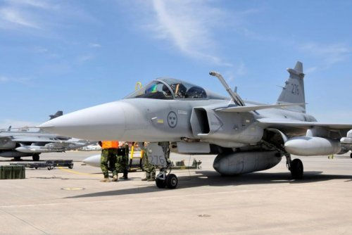 Saab to perform operational support for Swedish Gripens