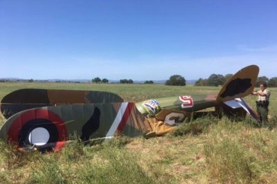Pilot dies in crash of World War I replica biplane