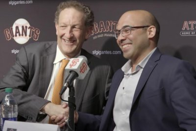 Giants CEO Larry Baer suspended for incident with wife
