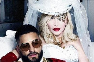Madonna teases collaboration with Maluma