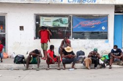 First migrants deported from U.S.-Mexico border arrive back in Haiti