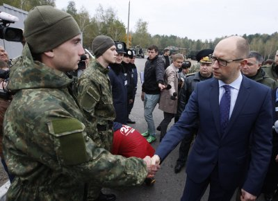 Ukraine's new military doctrine on fast track for approval, says prime minister