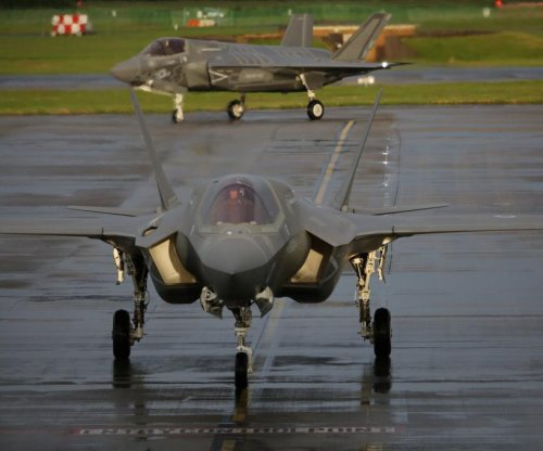First British F-35 completes transatlantic crossing