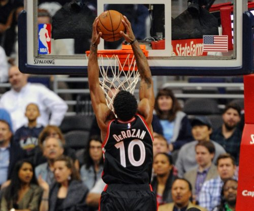 DeMar DeRozan scores 38 in Toronto Raptors' win over Miami Heat