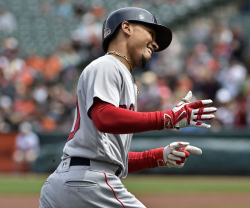Boston Red Sox beat Milwaukee Brewers on Mookie Betts' homer in ninth