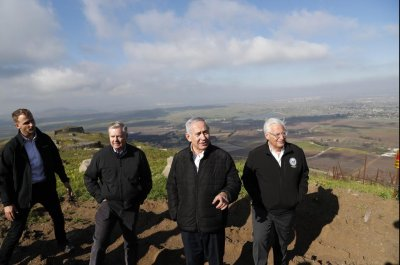 State Dept. report says disputed Golan Heights 'controlled' by Israel