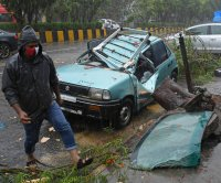 Cyclone Tauktae makes landfall in India packing 115 mph winds