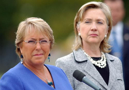 Former president Michelle Bachelet wins Chile's presidential run-off