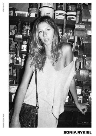 Gisele Bundchen stars in Sonia Rykiel's fall campaign ads