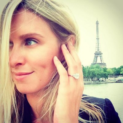 Nicky Hilton shows off engagement ring on Instagram