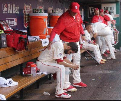 St. Louis Cardinals' Mike Matheny offers no excuses