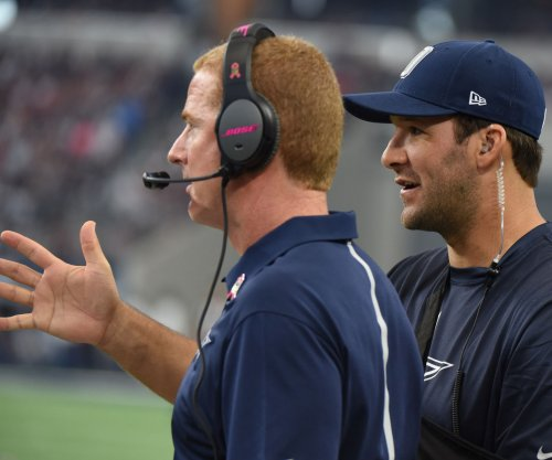 Dallas Cowboys' Tony Romo is back, but team limps through practice