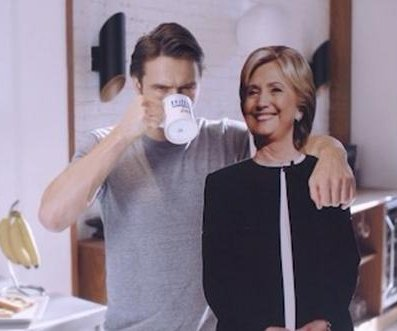 James Franco endorses Hillary Clinton in new social media ad: 'Vote wisely my friends'
