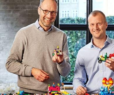 Lego Group CEO Knudstorp to head new Lego branding division