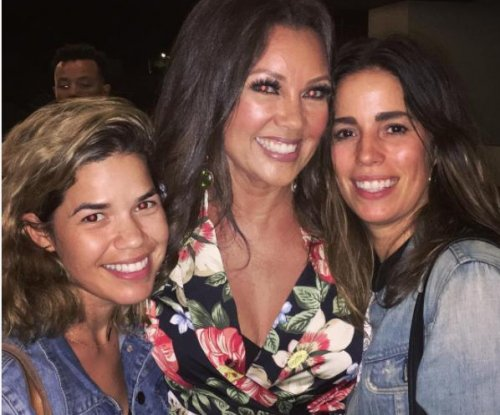 America Ferrera reunites with 'Ugly Betty' co-stars in L.A.