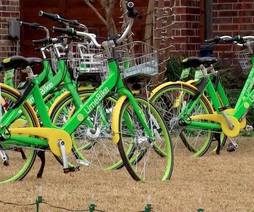 Prankster fills Texas family's yard with rental bikes
